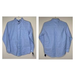 IZOD Big Boys IZOD Oxford Shirt Blue - J20